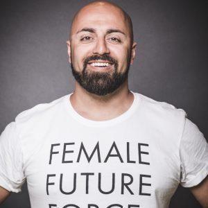 Porträtfoto Ali Mahlodji - Vortragender Social Innovation Walk - atempo
