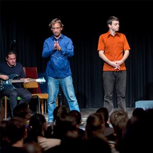 Foto von Theater im Bahnhof - Vortragende Social Innovation Walk - atempo